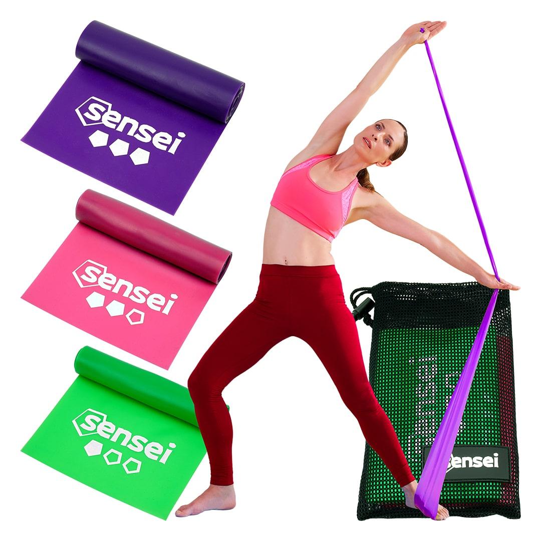 Gumy do jogi, rehabilitacji, fitness Sensei YOGA BANDS [1]