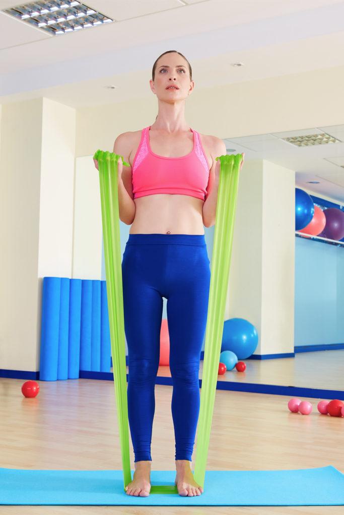 Gumy do jogi, rehabilitacji Sensei - ćwiczenia [1]