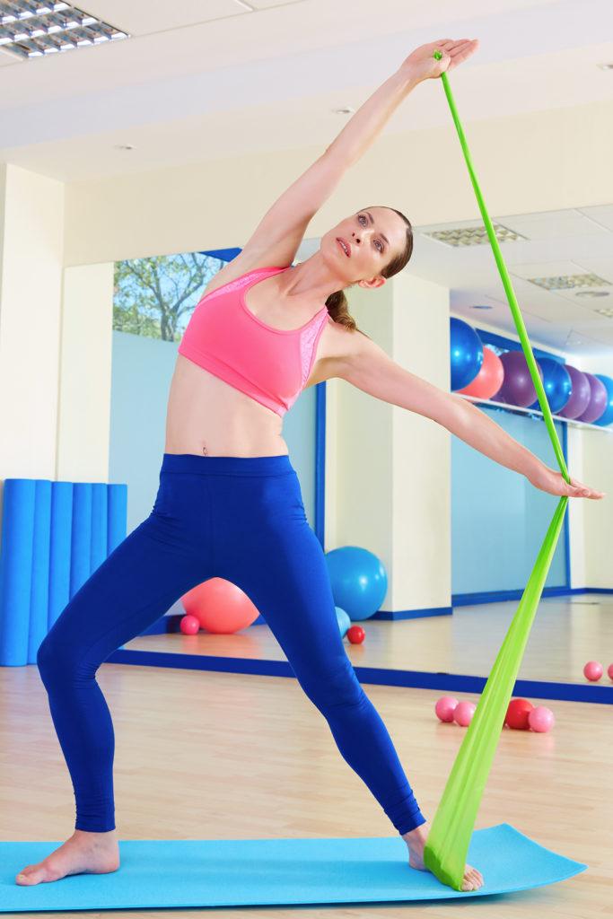 Gumy do jogi, rehabilitacji Sensei - ćwiczenia [2]