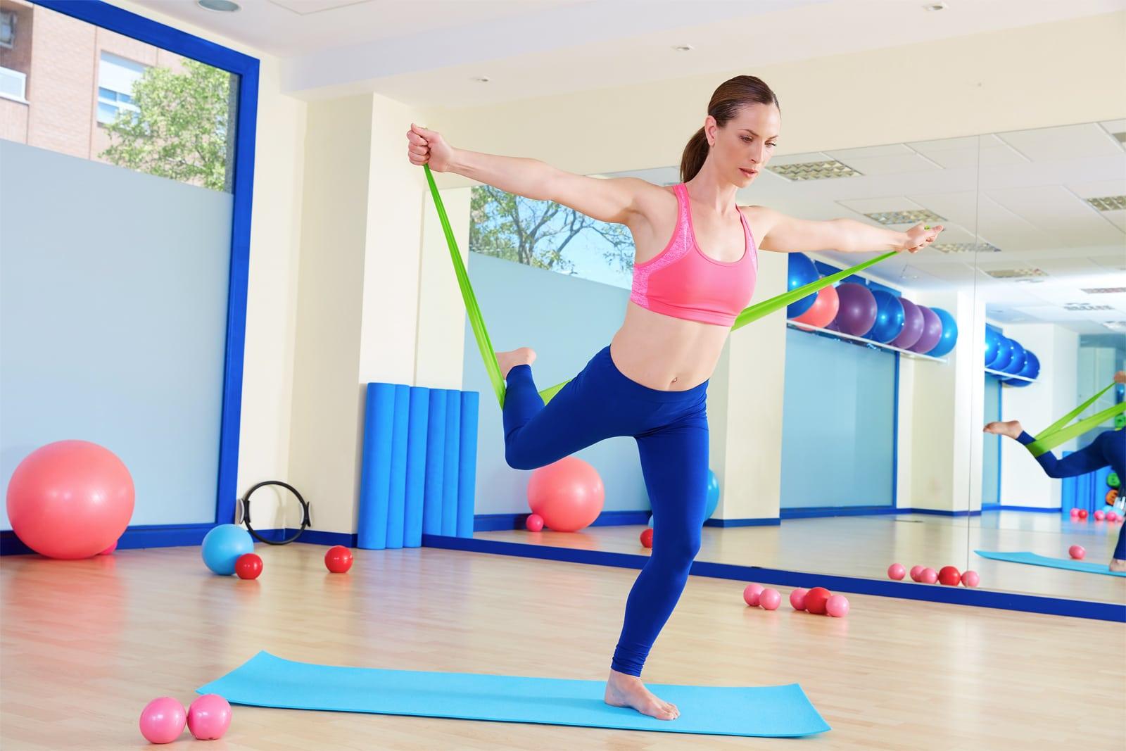 Gumy do jogi, rehabilitacji Sensei - ćwiczenia [3]