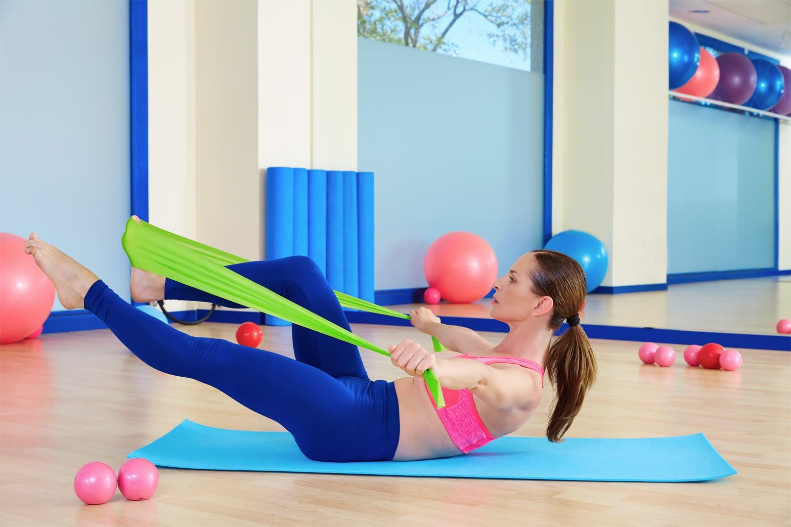 Gumy do jogi, rehabilitacji Sensei - ćwiczenia [4]