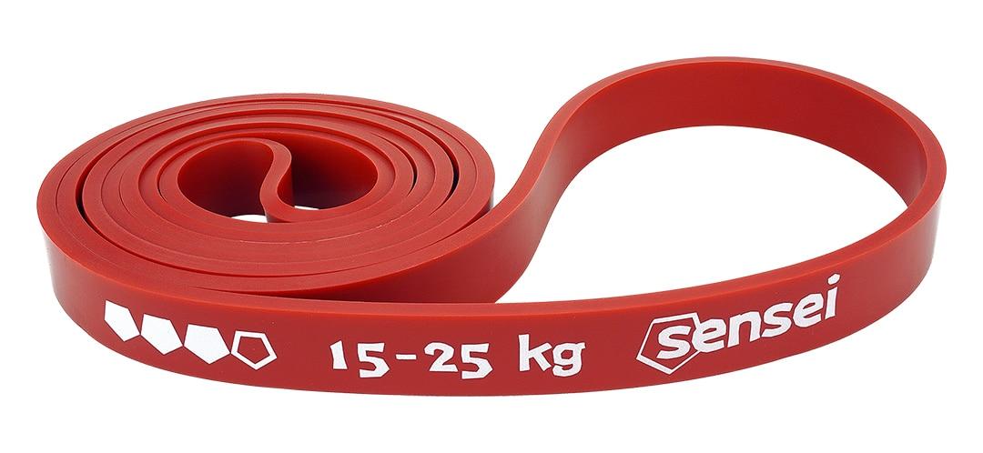 Guma oporowa do ćwiczeń, podciągania Sensei POWER BAND 15-25 kg
