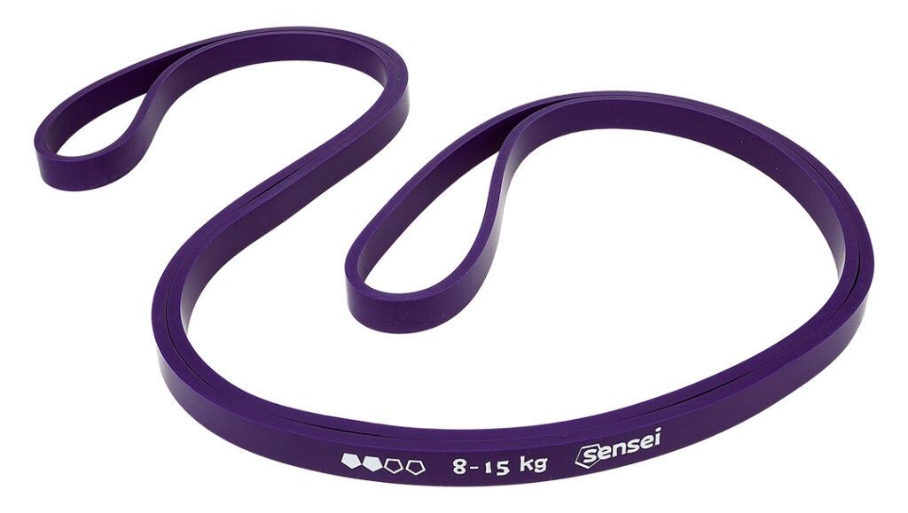 Guma oporowa do ćwiczeń, podciągania Sensei POWER BAND 8-15 kg