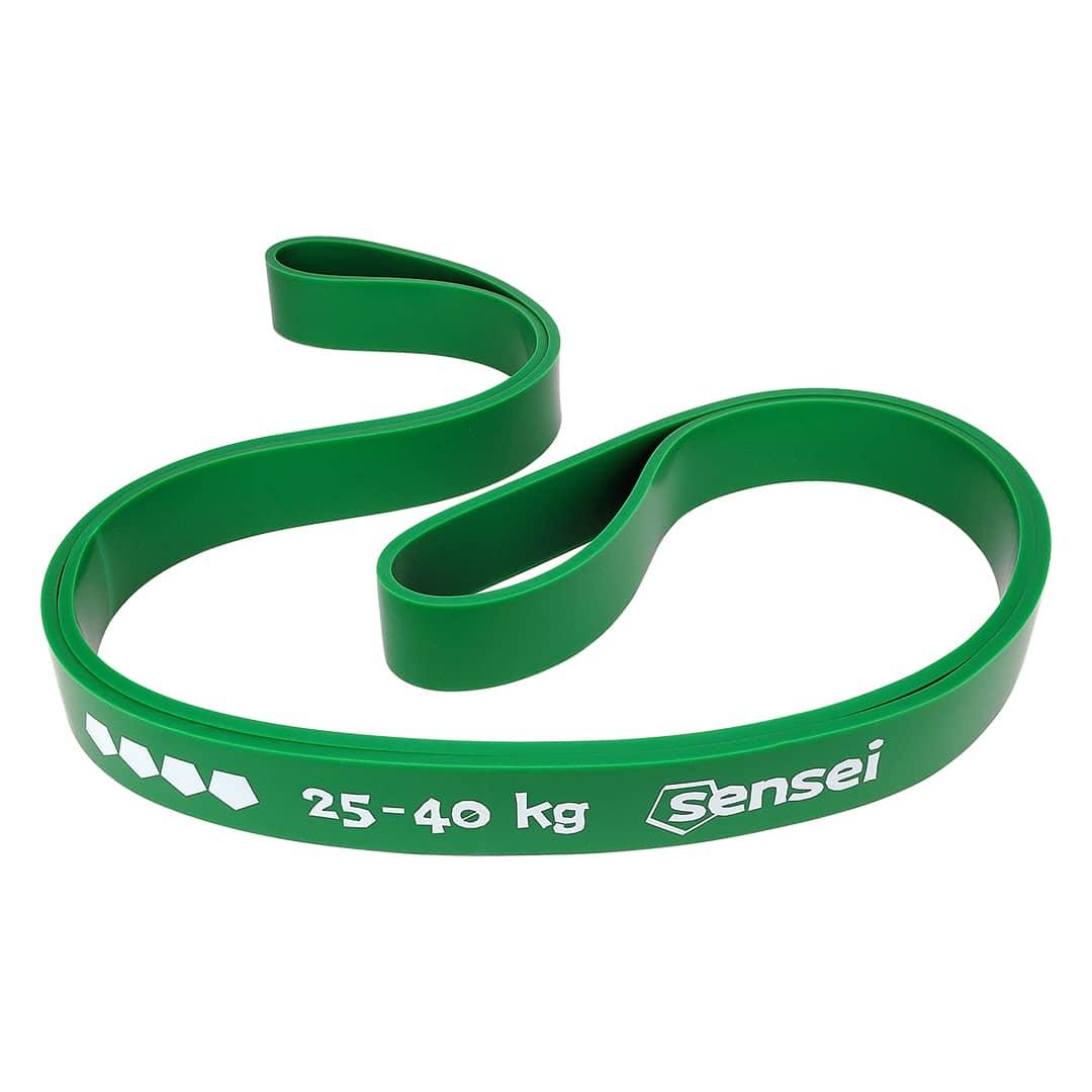 Guma oporowa do ćwiczeń, podciągania Sensei POWER BAND 25-40 kg